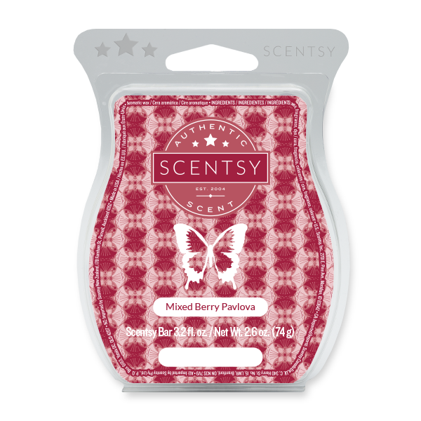 Mixed Berry Pavlova Scentsy Bar