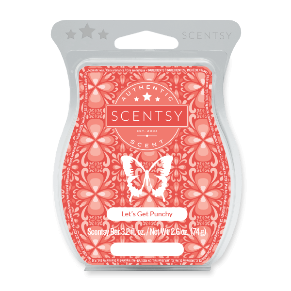 Lets Get Punchy Scentsy Bar