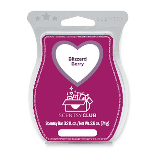 Blizzard Berry Scentsy Bar