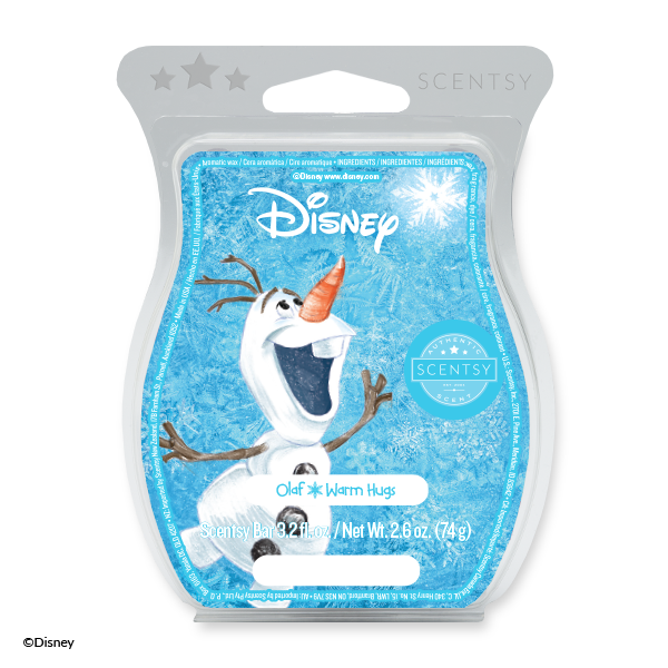 Olaf, Warm Hugs - Scentsy Bar