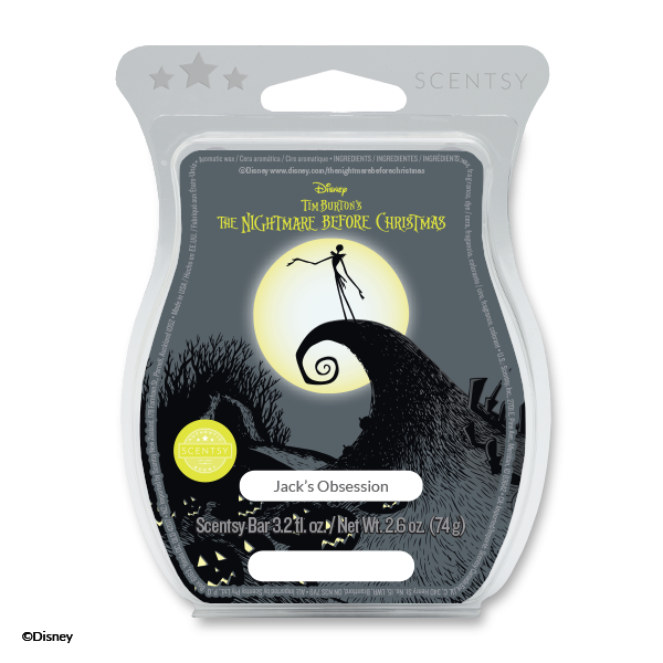 The Nightmare Before Christmas: Jack's Obsession Scentsy Bar